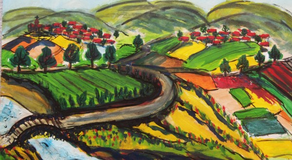Paintings from Nagorno-Karabakh