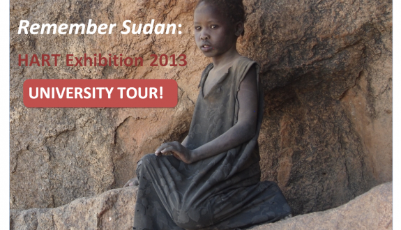 'Remember Sudan': University Tour