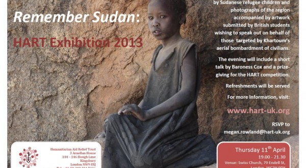 'Remember Sudan': A HART Exhibition
