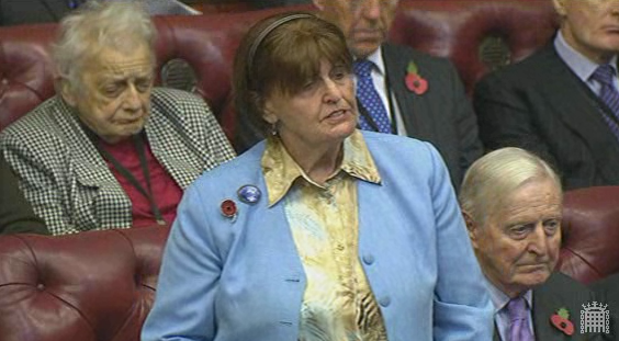 Baroness Cox receives answers to her written questions on the recent conflict in Kachin and Shan States, Burma