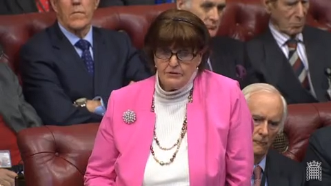 Written Questions & Answers from Baroness Caroline Cox 07/01/2019