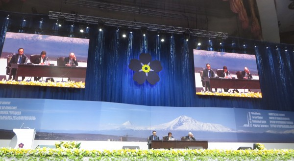 Baroness Cox's Contribution to the Global Forum in Yerevan on the Occasion of the Centenary of the Armenian Genocide.