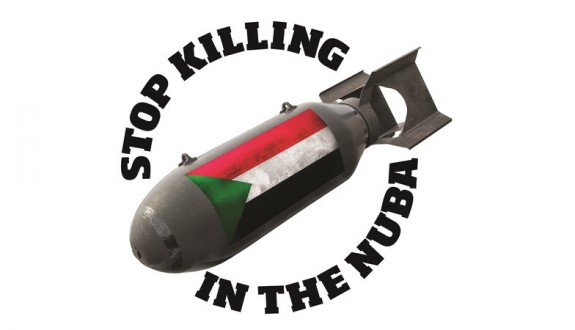 Demonstration in London: Stop Killing In The Nuba