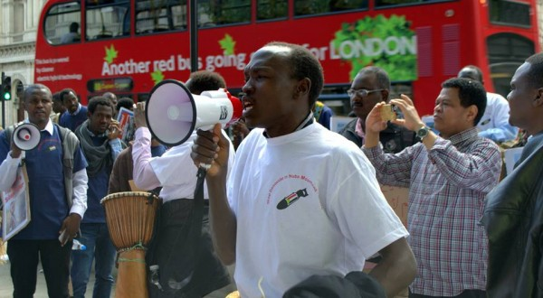 PRESS RELEASE: PROTESTS IN LONDON AS SUDANESE GOVERNMENT INCREASES BOMBING OF CIVILIANS