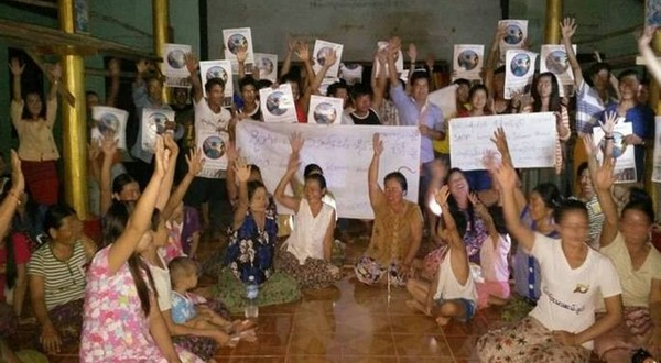 Press release by Action for Shan State Rivers