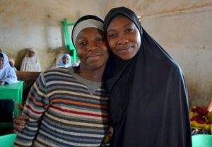 Muslim and Christian tailoring teachers at the Mai Adiko Peace Project. Photo taken on HART's visit to Nigeria 2015