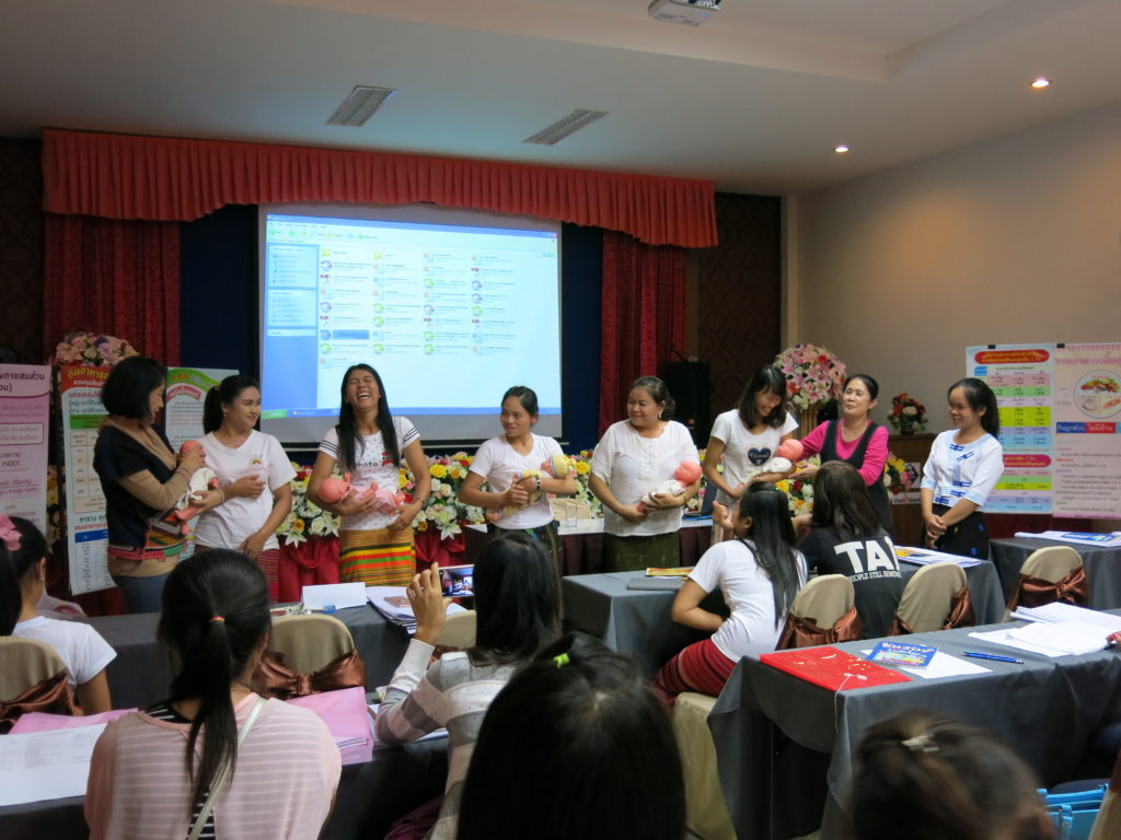 Women participating in the SWAN workshop.