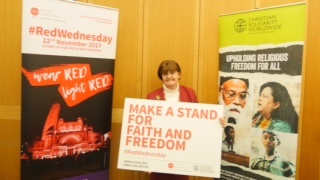 Baroness Cox stands up for faith and freedom on #RedWednesday