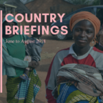 Country Briefings – June to August 2018