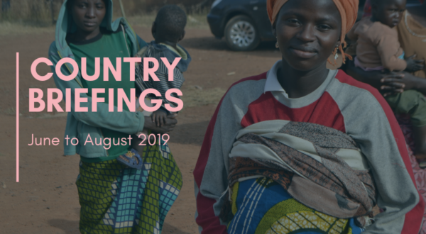 Country Briefings: June-August 2019