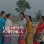 Country Briefings: September – November 2019