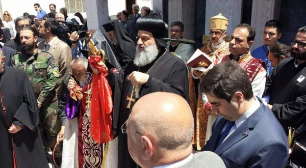 Press Release: Meeting with the Supreme Head of the Universal Syriac Orthodox Church-17 September